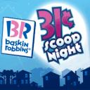 baskin robbins 31 cent scoop night
