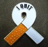 I Quit Smoking Pin