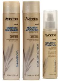 Aveeno Nourish Shampoo Conditioner Treatment
