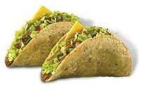 Jack in the Box 2 tacos