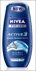nivea for men active 3