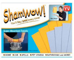 Free ShamWow Towel