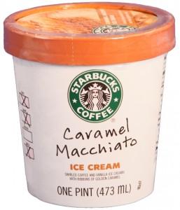 Starbucks Coffee Ice Cream Caramal Macchiato