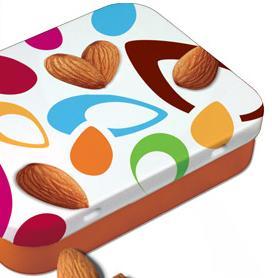 Free Almond Tin
