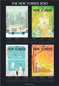 2010 New Yorker Calendar Poster