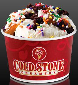 Coldstone Creamery Jacks Creation