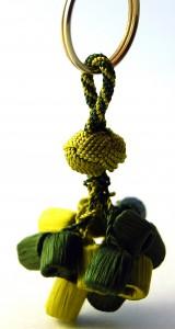 Moroccan Silk Keychain Amira Imports
