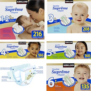 Kirkland Supreme Diapers
