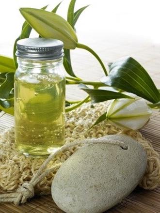 sun vibes massage oil