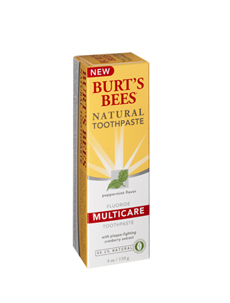 Burts Bees Natural Toothpaste