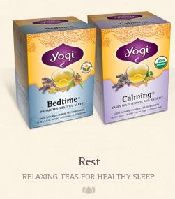 yogi tea rest