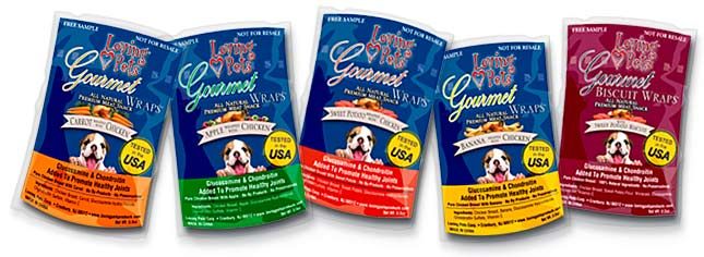 gourmet wraps for dogs
