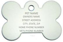Bone Pet ID Tag