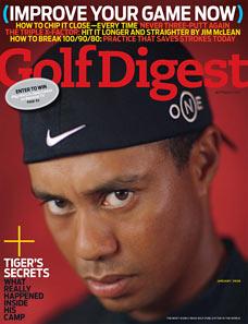 Golf Digest Tiger Woods