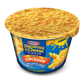 Macaroni and Cheese Cheddar Explosion