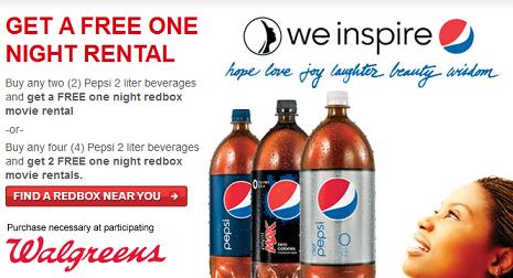 Redbox-Pepsi-Deal