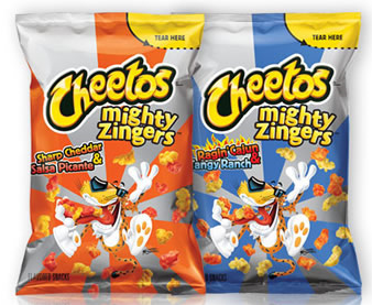 cheetos might zingers