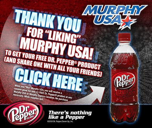 dr pepper murphy usa