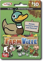 farmville gift card