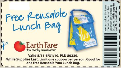free reusable lunch bag