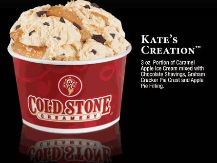 Kates Creation Cold Stone