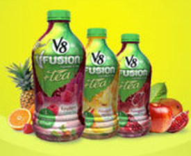 V8 Fusion Tea