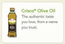 crisco olive oil