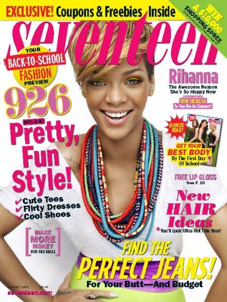 seventeen magazine august 2010