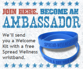 spread wellness wristband