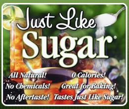 just like sugar