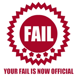 official fail