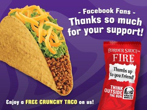free crunchy taco