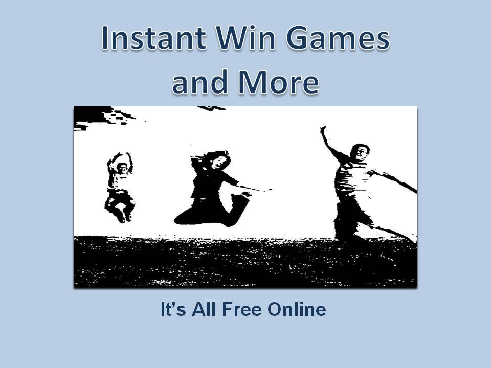 Alfredo Instant Win Games - Play this Game Online for Free