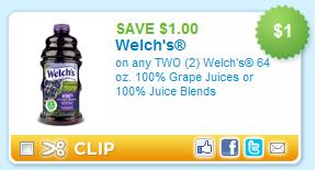 welchs juice coupon