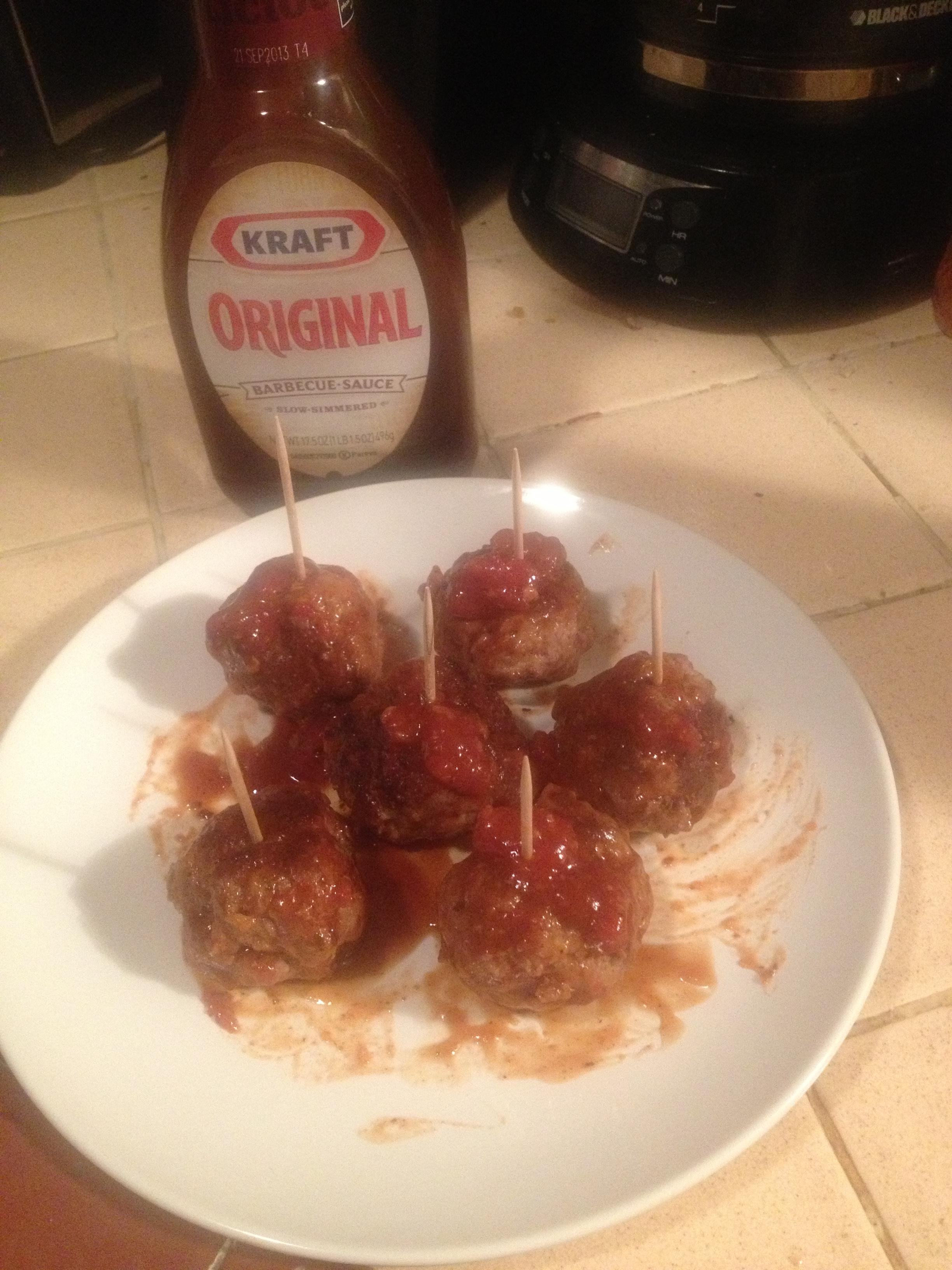 Kraft BBQ Meatballs