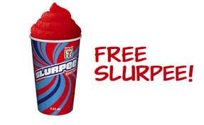 free slurpee text