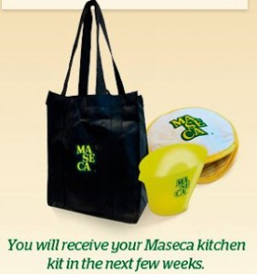 Free Reusable Tote bag, Tortilla Holder and Measuring Cup