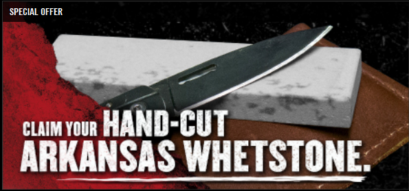 hand cut arkansas whetstone