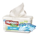 Huggies Triple Clean Wipes