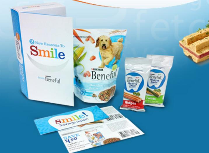 beneful sample pack