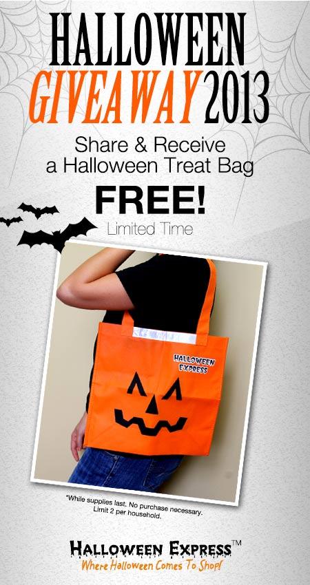 free halloween bags