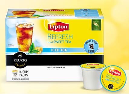 lipton iced tea k cups