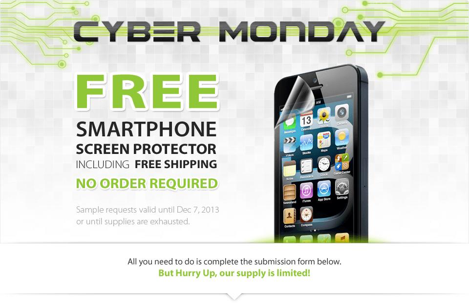 free screen protector