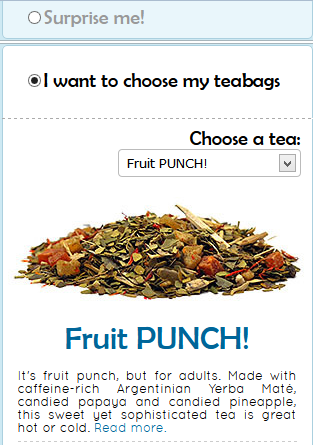 free teabags