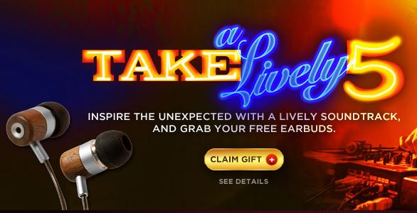free earbuds