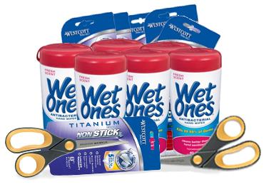 free wet ones wipes
