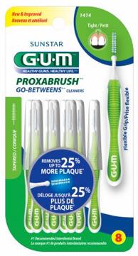 Free Sunstar GUM Proxabrush Go-Between Cleaners