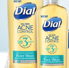 Dial Acne Control Face Wash and Body Wash