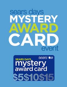 mystery award card event