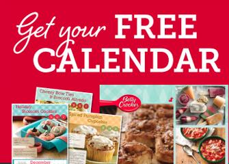 free betty crocker calendar